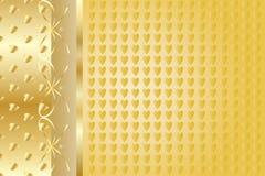 Χρυσό κομψό υπόβαθρο Στοκ φωτογραφία με δικαίωμα ελεύθερης χρήσης