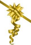χρυσό κορδόνι Στοκ Φωτογραφίες