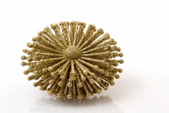 Χρυσό κρύσταλλο πάγου Στοκ Εικόνα
