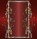 χρυσό κόκκινο λευκόχρυ&sigma Στοκ εικόνες με δικαίωμα ελεύθερης χρήσης