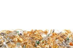 χρυσό κόσμημα Στοκ φωτογραφίες με δικαίωμα ελεύθερης χρήσης
