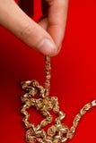 χρυσό κόσμημα Στοκ φωτογραφία με δικαίωμα ελεύθερης χρήσης