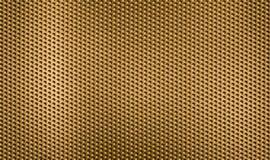 χρυσό μέταλλο δικτύου ανασκόπησης Στοκ Φωτογραφίες