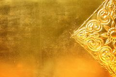 Χρυσό μέταλλο με διαμορφωμένος διανυσματική απεικόνιση