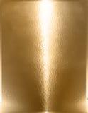 Χρυσό μέταλλο χρωμίου Στοκ εικόνα με δικαίωμα ελεύθερης χρήσης