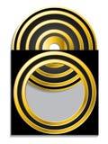 χρυσό μανίκι Cd dvd ελεύθερη απεικόνιση δικαιώματος
