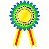 χρυσό μετάλλιο πρωτοπόρων Στοκ εικόνα με δικαίωμα ελεύθερης χρήσης