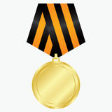 χρυσό μετάλλιο Στοκ εικόνα με δικαίωμα ελεύθερης χρήσης