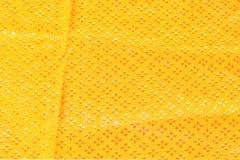 Χρυσό μετάξι υφάσματος για το υπόβαθρο Στοκ Εικόνα