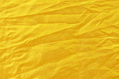 Χρυσό μετάξι υφάσματος Στοκ Εικόνα
