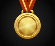 Χρυσό μετάλλιο, νικητής, βραβείο, πρωτοπόρος ελεύθερη απεικόνιση δικαιώματος
