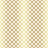 Χρυσό μεταλλικό κανονικό άνευ ραφής σχέδιο Στοκ εικόνα με δικαίωμα ελεύθερης χρήσης