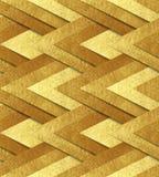 Χρυσό μεταλλικό άνευ ραφής σχέδιο Στοκ εικόνα με δικαίωμα ελεύθερης χρήσης