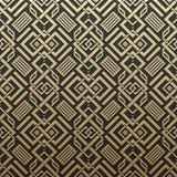 Χρυσό μεταλλικό υπόβαθρο με το άνευ ραφής σχέδιο Στοκ Εικόνες