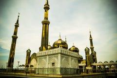 χρυσό μουσουλμανικό τέμ&epsilo Στοκ Φωτογραφία