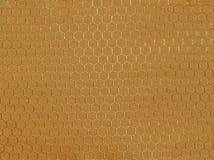 Χρυσό νάυλον ύφασμα Στοκ φωτογραφία με δικαίωμα ελεύθερης χρήσης
