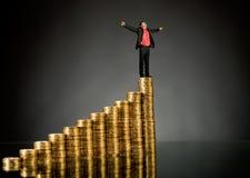 Χρυσό νόμισμα Στοκ φωτογραφίες με δικαίωμα ελεύθερης χρήσης