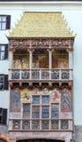 Χρυσό ορόσημο στεγών του Ίνσμπρουκ, Αυστρία Στοκ Εικόνες