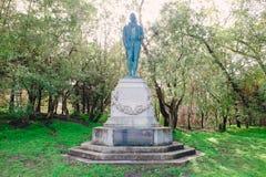 Χρυσό πάρκο πυλών αγαλμάτων εγκαυμάτων του Robert Στοκ φωτογραφία με δικαίωμα ελεύθερης χρήσης