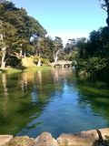 χρυσό πάρκο πυλών στοκ εικόνες