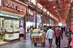 Χρυσό παζάρι του Ντουμπάι Στοκ Εικόνες