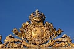 χρυσό παλάτι Βερσαλλίες πυλών Στοκ φωτογραφία με δικαίωμα ελεύθερης χρήσης