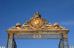 χρυσό παλάτι Βερσαλλίες πυλών Στοκ Εικόνες