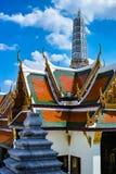 Χρυσό παλάτι του μεγάλου παλατιού στην Ταϊλάνδη Στοκ Φωτογραφίες