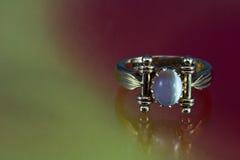 χρυσό παλαιό δαχτυλίδι στοκ εικόνες με δικαίωμα ελεύθερης χρήσης