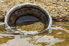 χρυσό παν νερό ποταμού Στοκ φωτογραφία με δικαίωμα ελεύθερης χρήσης