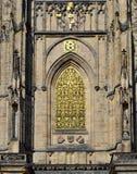 Χρυσό παράθυρο Στοκ φωτογραφία με δικαίωμα ελεύθερης χρήσης