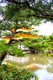 Χρυσό παλάτι στην Ιαπωνία Στοκ Εικόνες