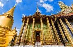 Χρυσό παλάτι του μεγάλου παλατιού στην Ταϊλάνδη Στοκ Εικόνες