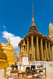 Χρυσό παλάτι του μεγάλου παλατιού στην Ταϊλάνδη Στοκ Εικόνα