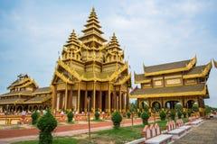 Χρυσό παλάτι Bagan σε παλαιό Bagan Στοκ φωτογραφίες με δικαίωμα ελεύθερης χρήσης