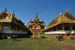 Χρυσό παλάτι Kambawzathardi, παλάτι του βασιλιά bayint naung, Bago, Στοκ φωτογραφίες με δικαίωμα ελεύθερης χρήσης