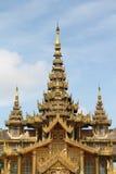 Χρυσό παλάτι Kambawzathardi Στοκ εικόνα με δικαίωμα ελεύθερης χρήσης