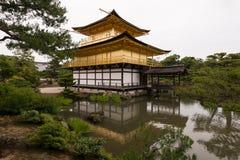 Χρυσό περίπτερο Κιότο Ιαπωνία Στοκ Φωτογραφία