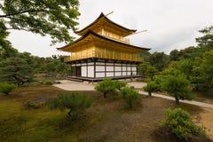 Χρυσό περίπτερο Κιότο Ιαπωνία Στοκ Εικόνες
