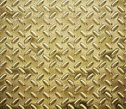 χρυσό πιάτο διαμαντιών Στοκ Εικόνες