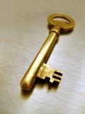 χρυσό πλήκτρο Στοκ φωτογραφία με δικαίωμα ελεύθερης χρήσης