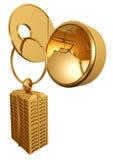 χρυσό πλήκτρο απεικόνιση αποθεμάτων