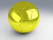 Χρυσό ποδόσφαιρο φλυτζανιών Στοκ φωτογραφία με δικαίωμα ελεύθερης χρήσης