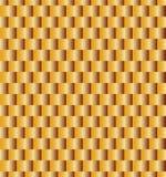 χρυσό πρότυπο άνευ ραφής Κατάλληλος για το κλωστοϋφαντουργικό προϊόν, το ύφασμα και τη συσκευασία Στοκ εικόνα με δικαίωμα ελεύθερης χρήσης