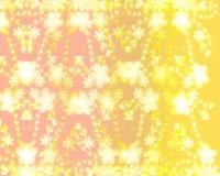 χρυσό πρότυπο λουλουδι διανυσματική απεικόνιση