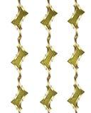 Χρυσό πρότυπο σχεδίων Πρότυπο για το σχέδιο διάστημα αντιγράφων για το φυλλάδιο αγγελιών ή την πρόσκληση ανακοίνωσης, αφηρημένο υ Στοκ Εικόνες