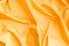 χρυσό σατέν Στοκ φωτογραφία με δικαίωμα ελεύθερης χρήσης