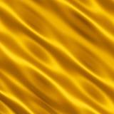 χρυσό σατέν Στοκ Φωτογραφίες
