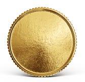 Χρυσό σημάδι νομισμάτων που απομονώνεται σε ένα άσπρο backgrond διανυσματική απεικόνιση
