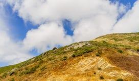 Χρυσό σημείο οχυρών κόλπων πυλών πεταλοειδές άνωθεν στοκ φωτογραφία με δικαίωμα ελεύθερης χρήσης
